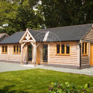 Traditional Annexe Designs   Oak Framed Annexes & OutBuildings   Radnor Oak