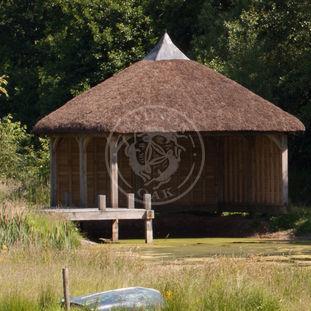 Oak Framed Boat House | Permanent Fishing Covers | Radnor Oak Buildings
