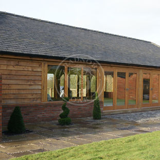 Oak Swimming pool and Gym Building | Green Oak Buildings | Radnor Oak