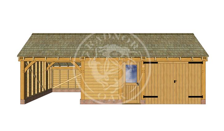 KI3028 | The Kinsham |  Radnor Oak