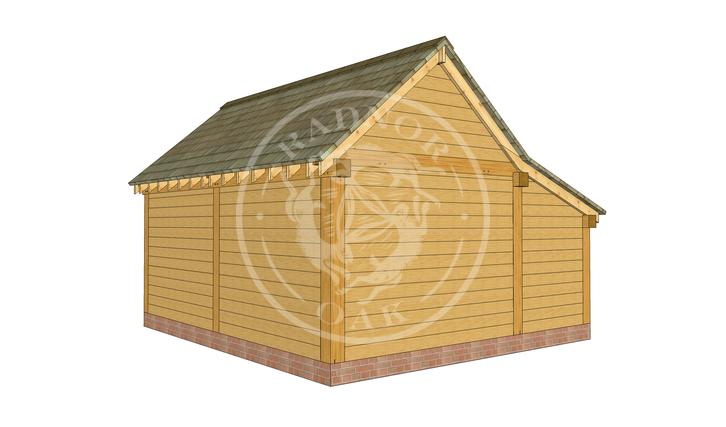 S010   Stapleton   Oak Framed Garages & Out Buildings