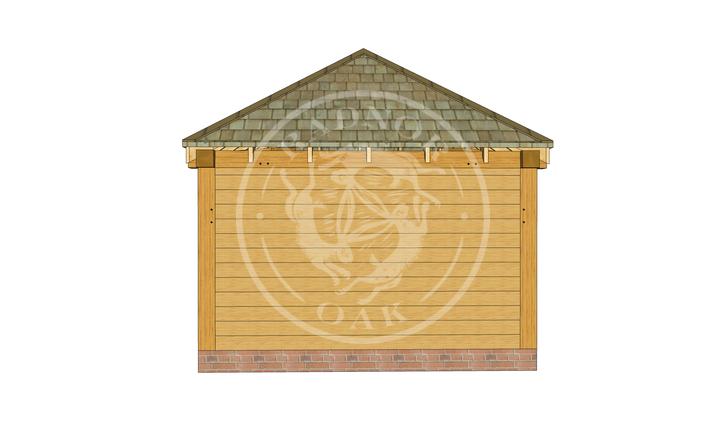 Medium Oak Gazebo | Image Five | Radnor Oak