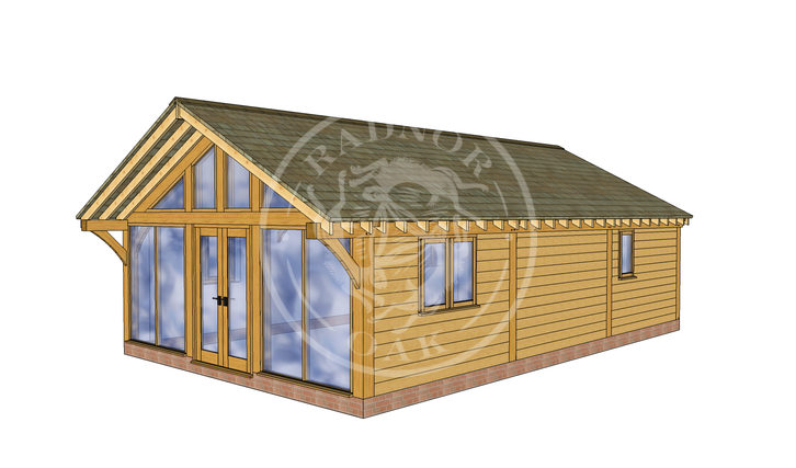 Oak Framed Annexe | Radnor Oak | ANX-BYL3001 | RHE