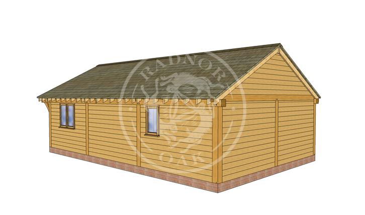 Oak Framed Annexe | Radnor Oak | ANX-BYL3001 | RHB