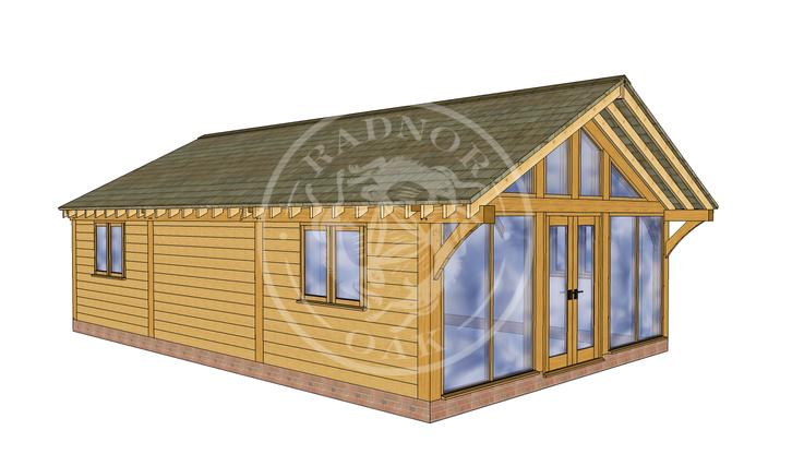 Oak Framed Annexe | Radnor Oak | ANX-BYL3001 | LHE