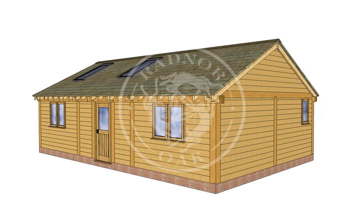 Oak Framed Annexe | Radnor Oak | ANX-BYL3002 | RHE