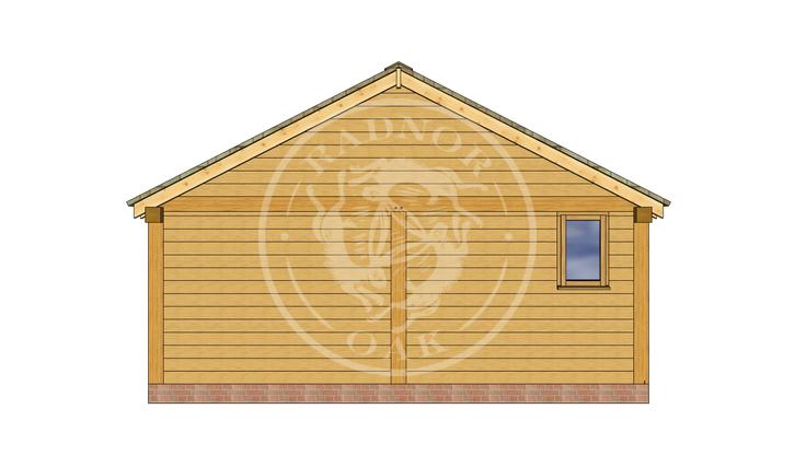 Oak Framed Annexe | Radnor Oak | ANX-BYL3002 | RIGHT