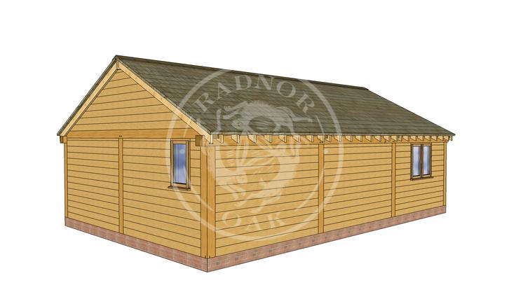 Oak Framed Annexe | Radnor Oak | ANX-BYL3002 | RHB