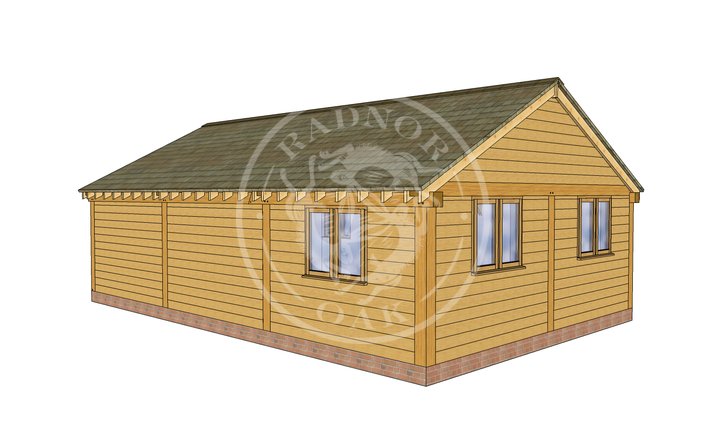 Oak Framed Annexe | Radnor Oak | ANX-BYL3002 | LHB