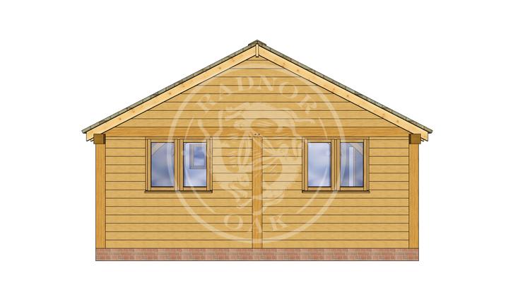 Oak Framed Annexe | Radnor Oak | ANX-BYL3002 | LEFT