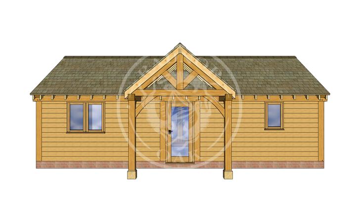 Oak Framed Annexe   Radnor Oak   ANX-BYL3003   FRONT