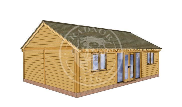 Oak Framed Annexe | Radnor Oak | ANX-BYL3003 | RHB