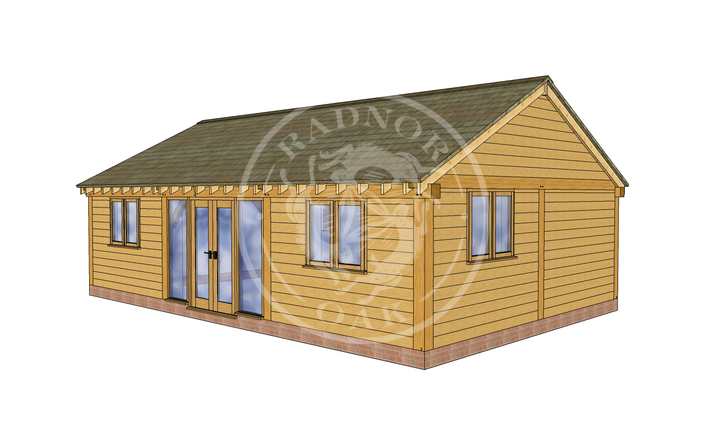 Oak Framed Annexe | Radnor Oak | ANX-BYL3004 | RHE