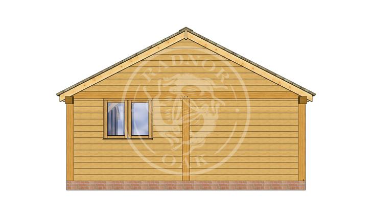 Oak Framed Annexe | Radnor Oak | ANX-BYL3004 | RIGHT