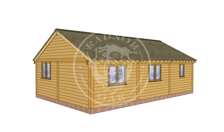 Oak Framed Annexe | Radnor Oak | ANX-BYL3004 | RHB
