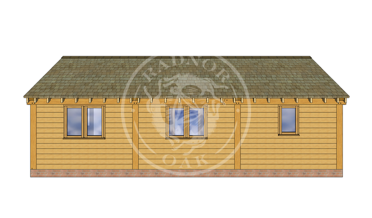 Oak Framed Annexe | Radnor Oak | ANX-BYL3004 | BACK