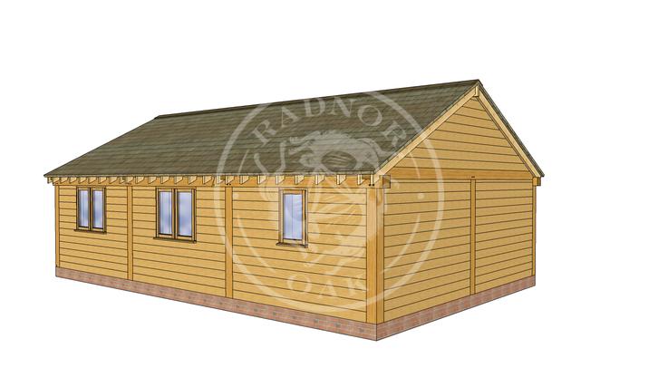 Oak Framed Annexe | Radnor Oak | ANX-BYL3004 | LHB