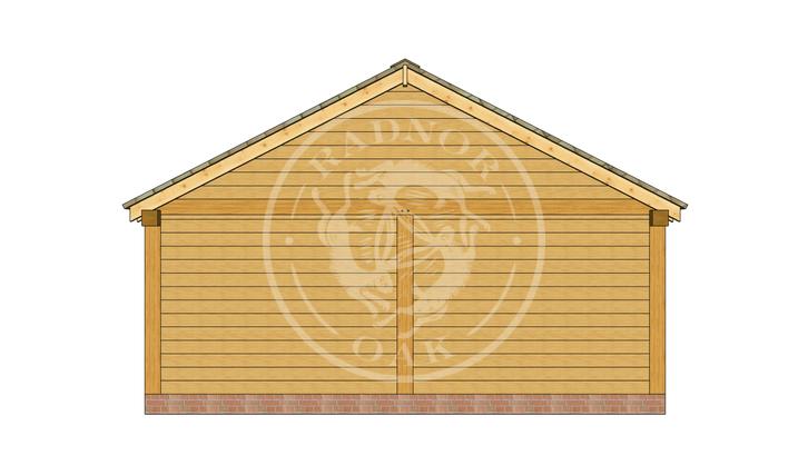 Oak Framed Annexe | Radnor Oak | ANX-BYL3004 | LEFT
