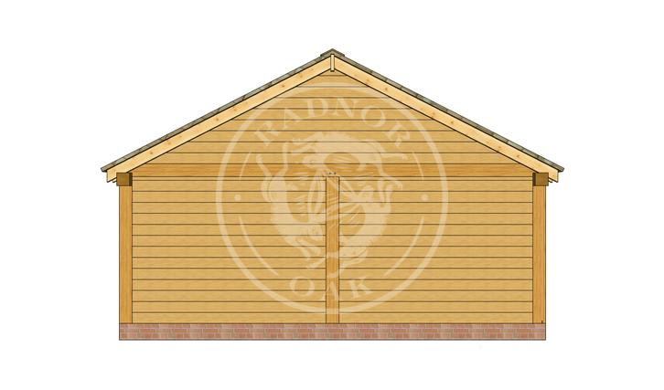 Oak Framed Annexe   Radnor Oak   ANX-BYL3005   RIGHT