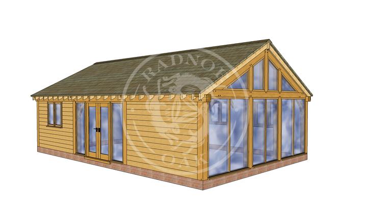 Oak Framed Annexe | Radnor Oak | ANX-BYL3006 | RHE