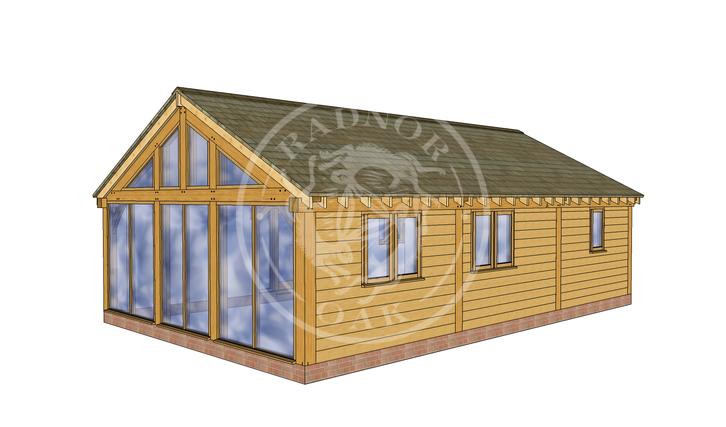 Oak Framed Annexe | Radnor Oak | ANX-BYL3006 | RHB