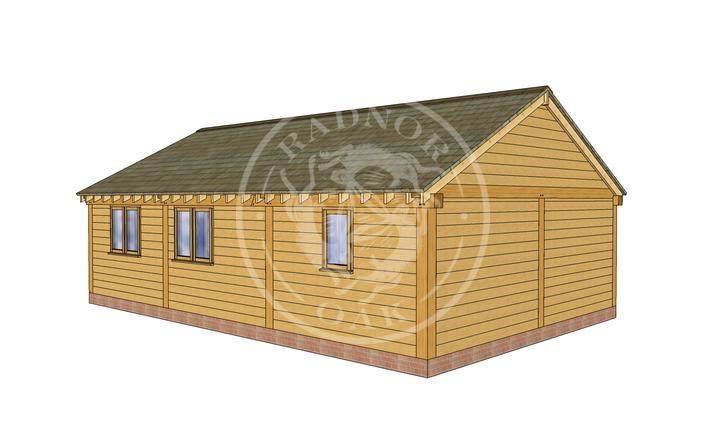 Oak Framed Annexe | Radnor Oak | ANX-BYL3006 | LHB
