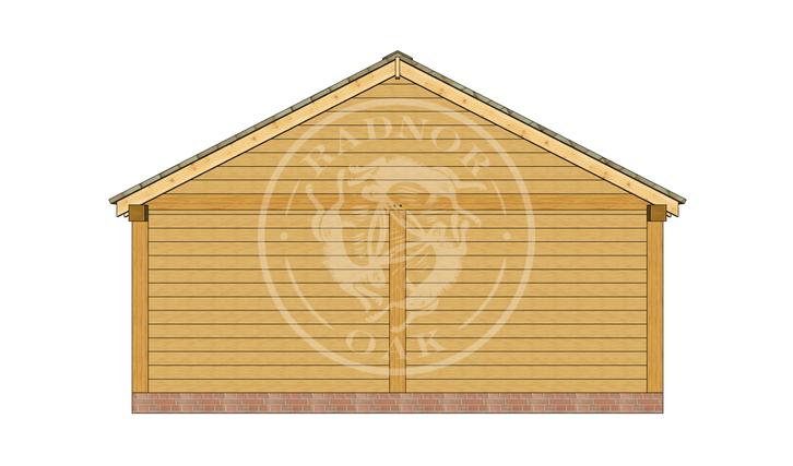 Oak Framed Annexe | Radnor Oak | ANX-BYL3006 | LEFT