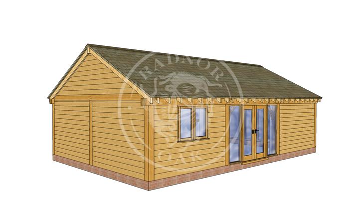 Oak Framed Annexe | Radnor Oak | ANX-BYL3006 | LHE