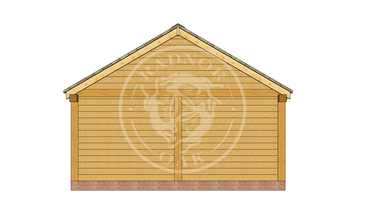 Oak Framed Annexe | Radnor Oak | ANX-WA3001 | RIGHT