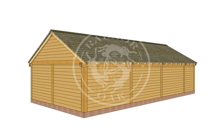 Oak Framed Annexe | Radnor Oak | ANX-WA3001 | RHB
