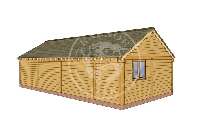 Oak Framed Annexe | Radnor Oak | ANX-WA3001 | LHB