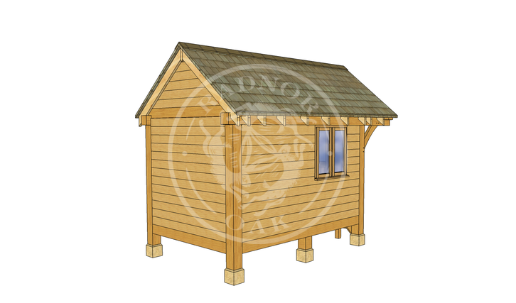 Oak Framed Summerhouse | Radnor Oak | GC001 | LHB