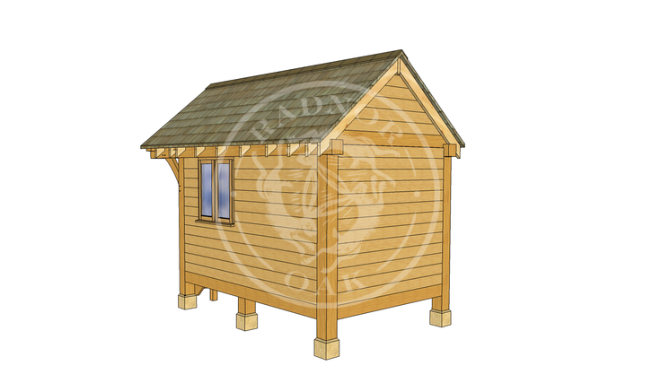 Oak Framed Summerhouse | Radnor Oak | GC001 | RHB