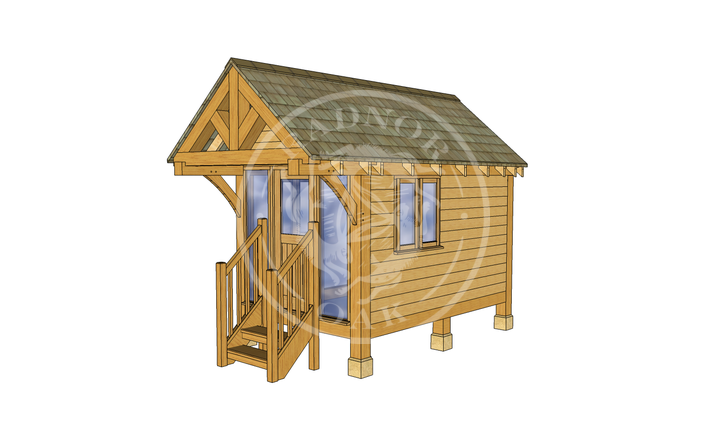 Oak Framed Summerhouse | Radnor Oak | GC001 | RHE