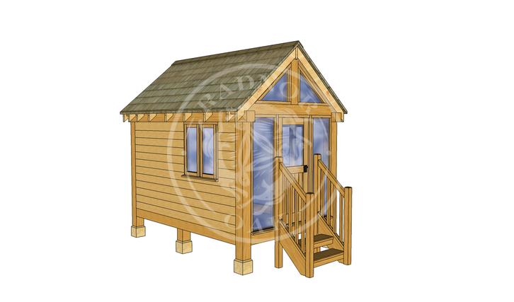 Oak Framed Summerhouse | Radnor Oak | GC002 | LHE