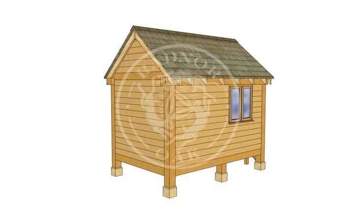 Oak Framed Summerhouse | Radnor Oak | GC002 | LHB