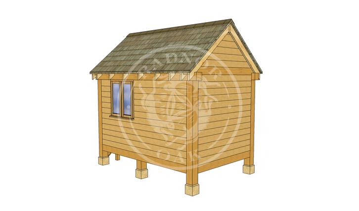 Oak Framed Summerhouse | Radnor Oak | GC002 | RHB