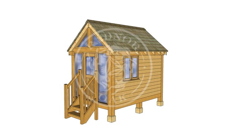 Oak Framed Summerhouse | Radnor Oak | GC002 | RHE