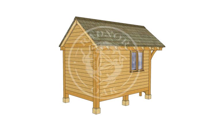 Oak Framed Summerhouse | Radnor Oak | GC004 | LHB