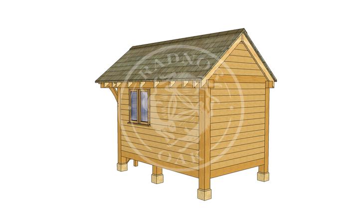 Oak Framed Summerhouse | Radnor Oak | GC004 | RHB
