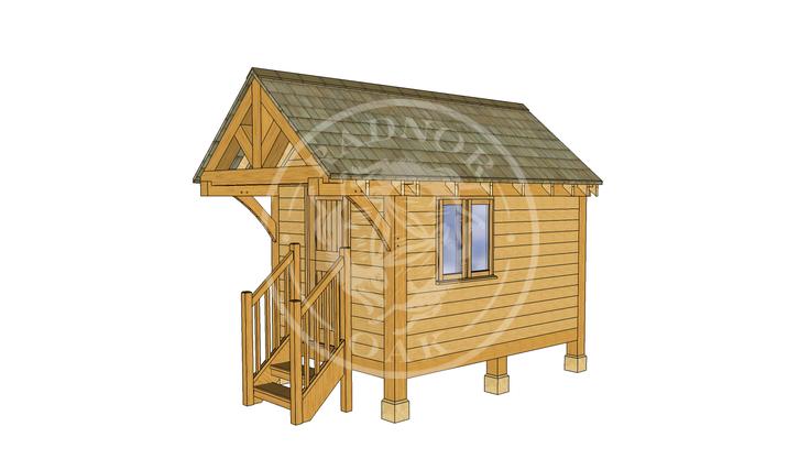 Oak Framed Summerhouse | Radnor Oak | GC004 | RHE