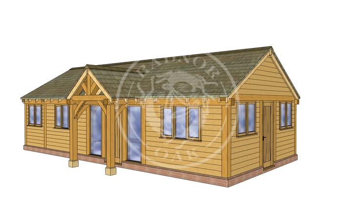Oak Framed Annexe | Radnor Oak | Our Showsite Annexe | RHE