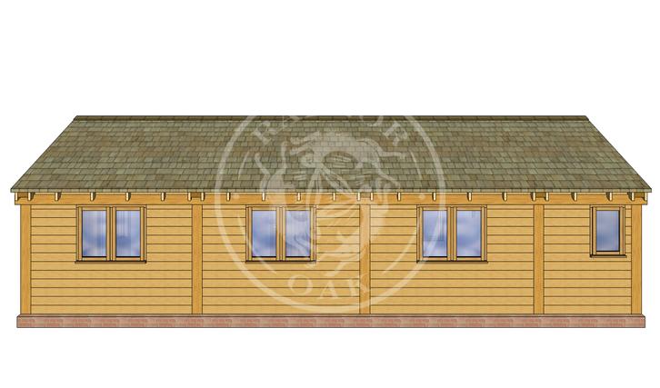 Oak Framed Annexe | Radnor Oak | Our Showsite Annexe | RIGHT