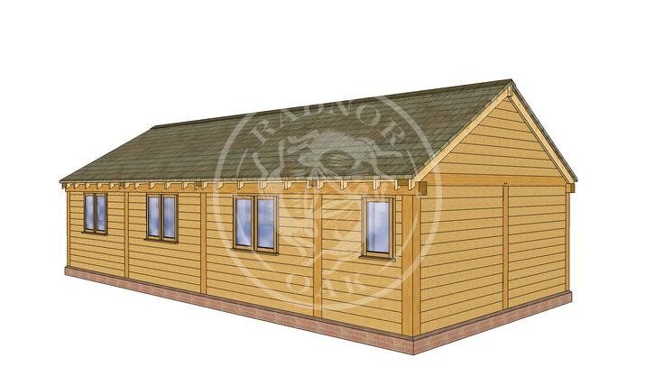 Oak Framed Annexe | Radnor Oak | Our Showsite Annexe | LHB