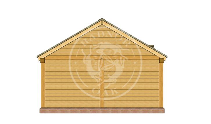 Oak Framed Annexe | Radnor Oak | Our Showsite Annexe | LEFT