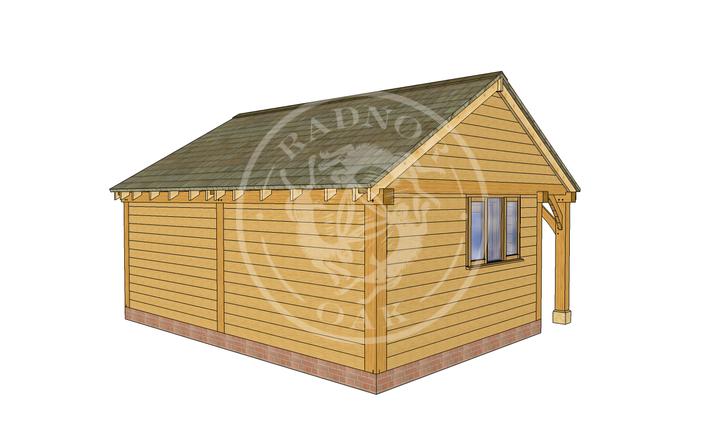 Oak Framed Summer House | Radnor Oak | SHL001 | LHB