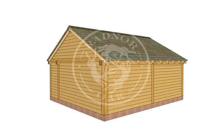 Oak Framed Summer House | Radnor Oak | SHL001 | RHB