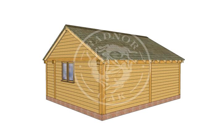 Oak Framed Summer House | Radnor Oak | SHL002 | RHB