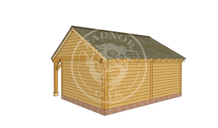 Oak Framed Summer House | Radnor Oak | SHL003 | RHB