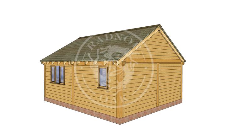 Oak Framed Summer House | Radnor Oak | SHL004 | LHB